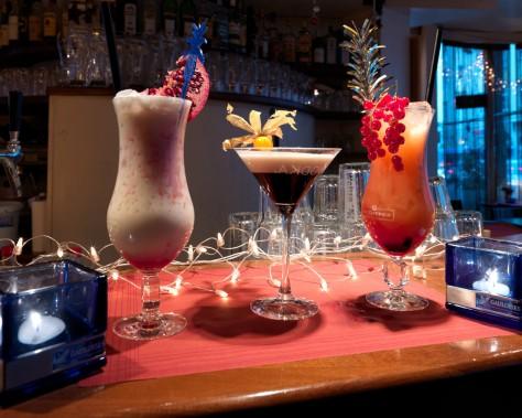Verschiedene Cocktails